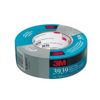 Băng keo vải 3M Heavy Duct Tape 3939 (Bạc)