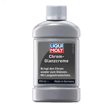 Kem đánh bóng kim loại, vành, hợp kim, nhôm Liqui Moly Chrome Glanz Creme 1529 250ml
