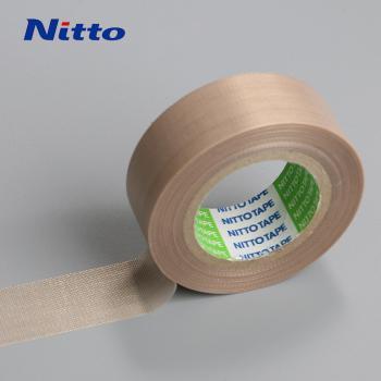 Băng keo chịu nhiệt cao và kháng hóa chất Nitto PTFE No.973UL nâu 0.08mmx13mmx10m