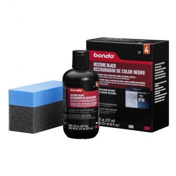 Dung dịch phục hồi nhựa đen - 3M Bondo Restore Black Restauradoor De Color Negro PN0800 237ml (Đen)