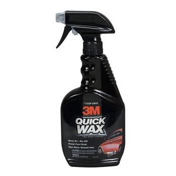 3M Quick Wax3M PN39034 473ml - Chai xịt đánh bóng nhanh (Đen)