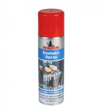 Chai xịt vệ sinh, tăng tiếp xúc và bảo vệ tiếp điểm mạch điện Nigrin Kontakt-Spray 250ml