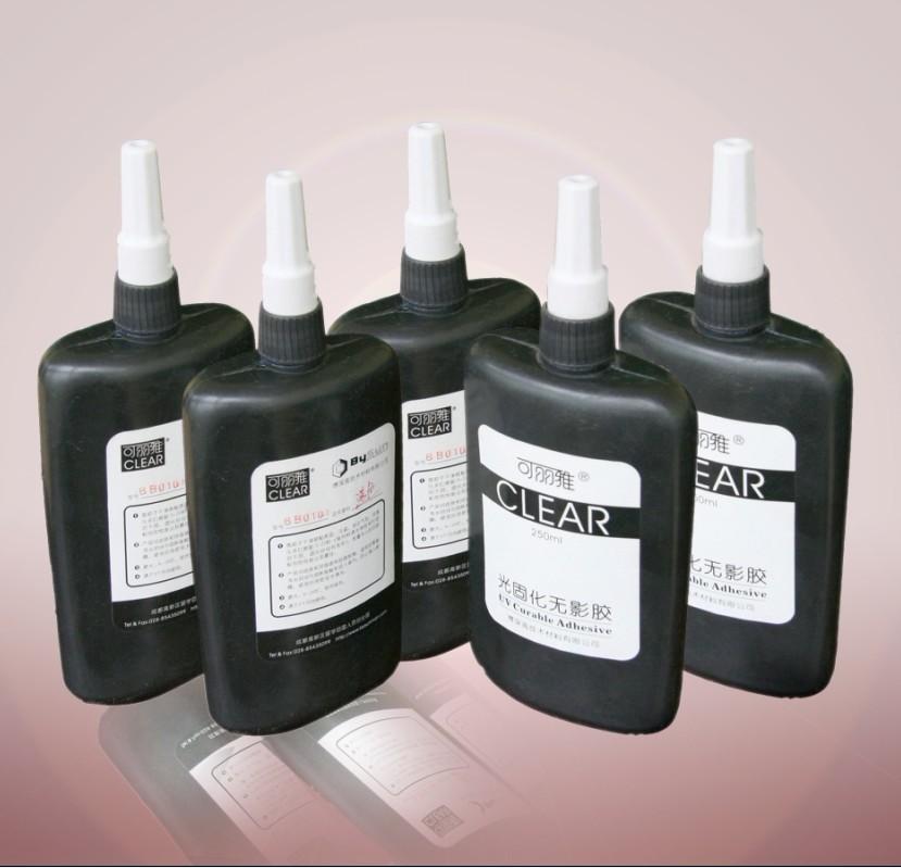 Keo UV dán Kính, Thép, Mica trong suốt cao cấp keo sệt và nhanh khô BySun BB010 250ml