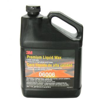 3M Premium Liquid Wax PN06006 3.78l - Paste Đánh Bóng Xe (Đen)