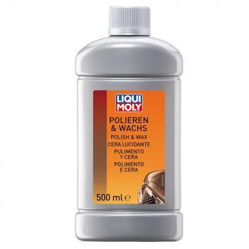 Dung dịch đánh bóng và phủ Wax bảo vệ xe 2 trong 1 Liqui Moly Polish & Wax 1467 500ml