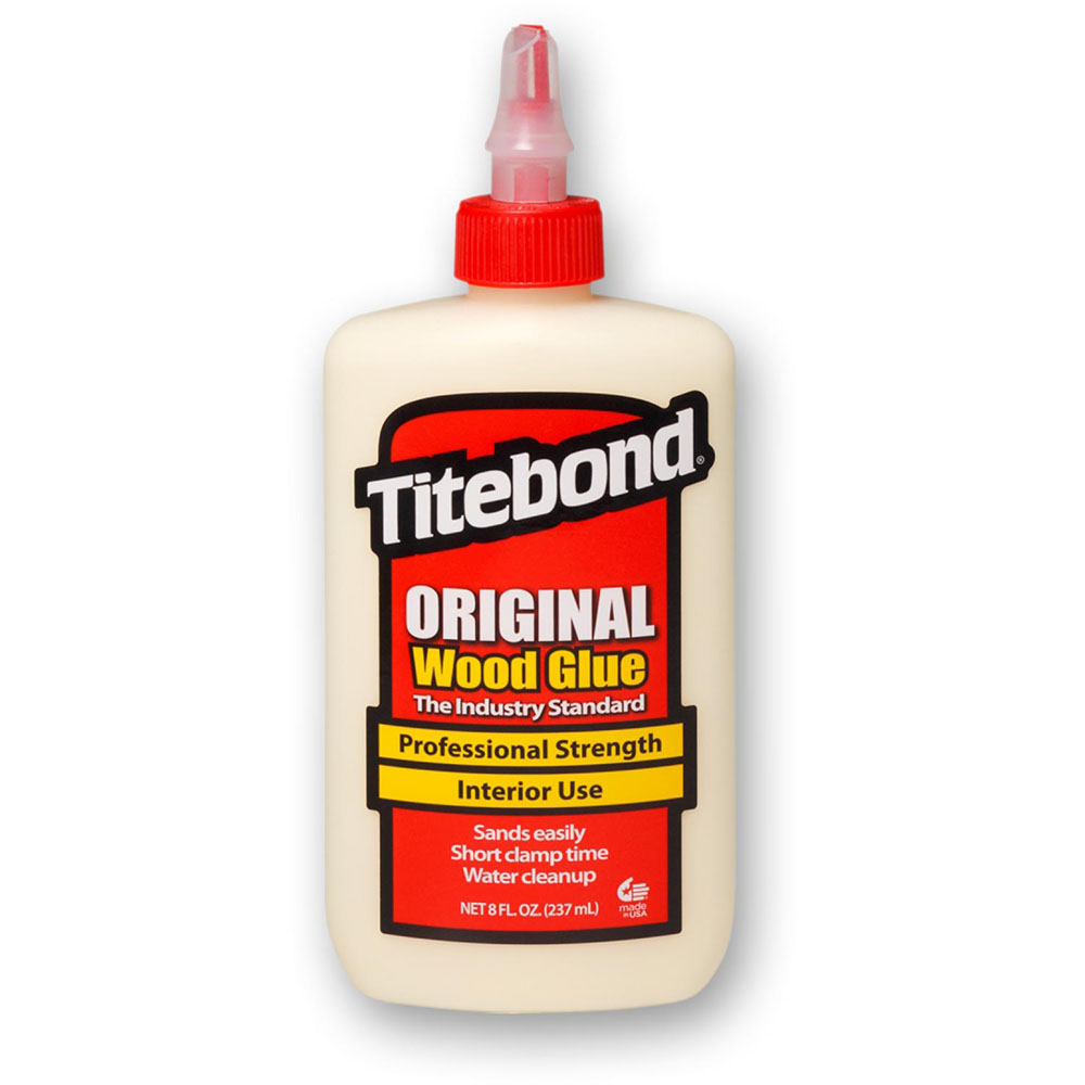 Keo dán gỗ nội thất Titebond USA Original Wood Glue chai nhỏ 237ml