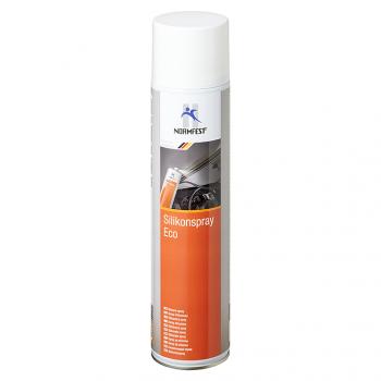 Chai xịt silicon bôi trơn bảo dưỡng cao su, nhựa Normfest Silikonspray Eco 600ml