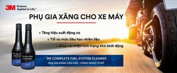 Phụ gia xúc pét làm sạch hệ thống nhiên liệu xe máy 3M Complete Fuel System Cleaner 08813LV 60ml