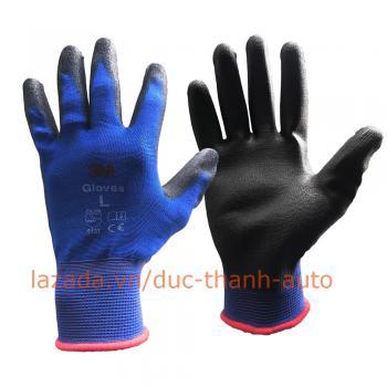 Găng tay chống cắt 3M cấp độ 1 Cut Resistant Gloves Size L màu xanh da trời