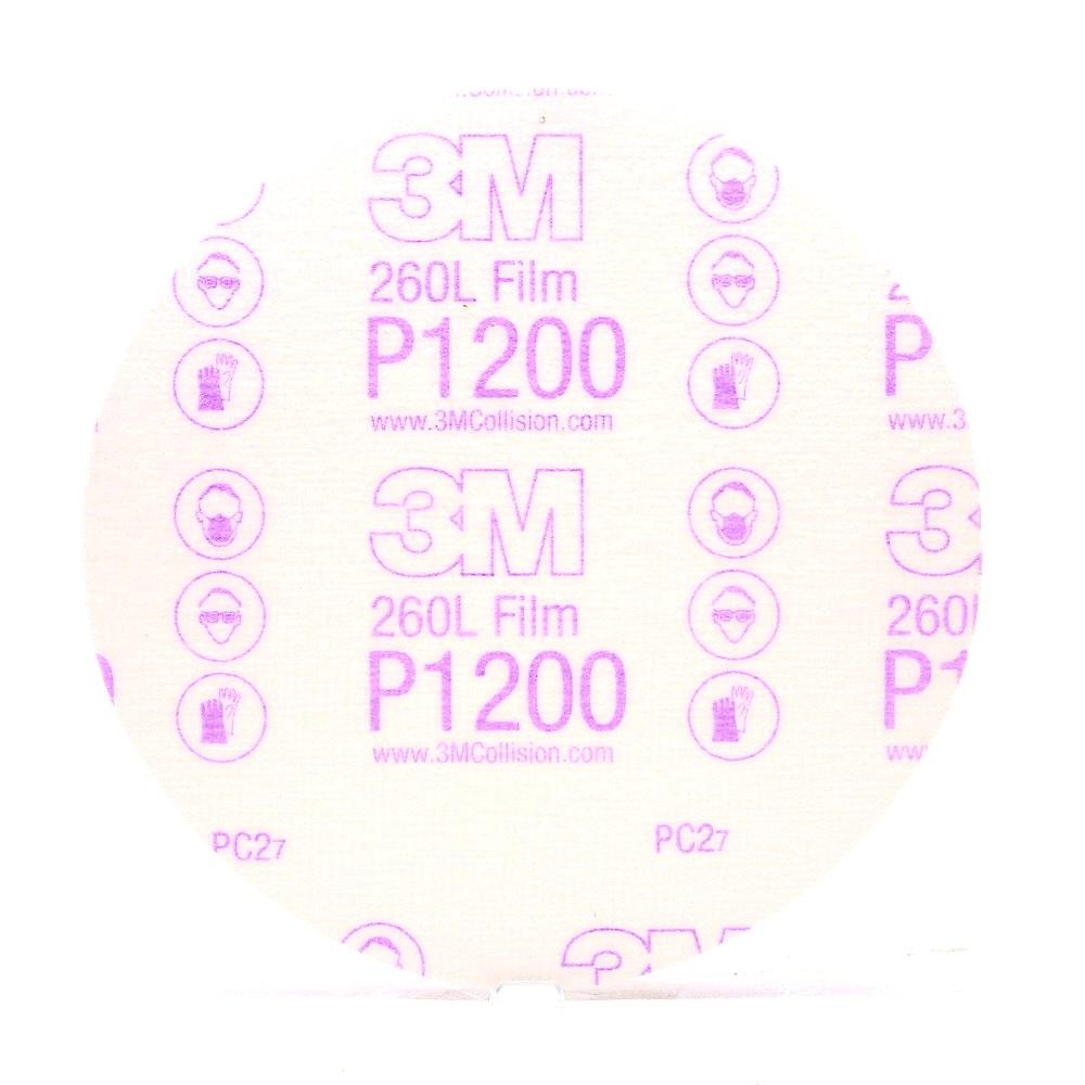 Nhám đĩa cao cấp hoàn thiện bề mặt 3M Gold Finishing Film Disc 00968 P1200 6in hộp 100 tờ