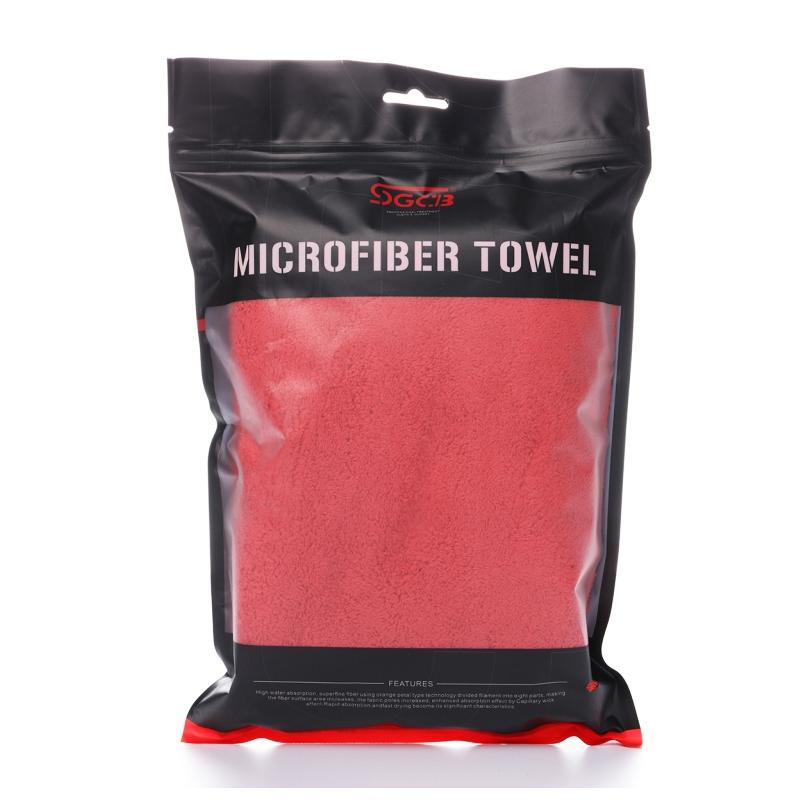 Khăn lau xe không viền đỏ đa dụng SGCB Shine & buff Edgeless Towel 40x60cm SGGD122