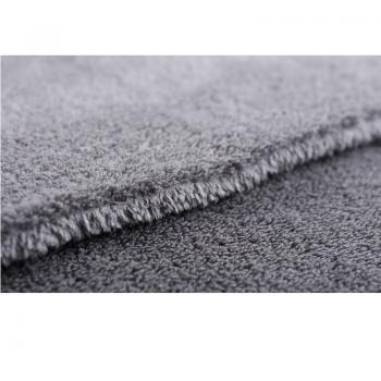 Khăn lau xe không viền xám đa dụng SGCB Shine & buff  Edgeless Towel (Grey) 40x60cm SGGD123