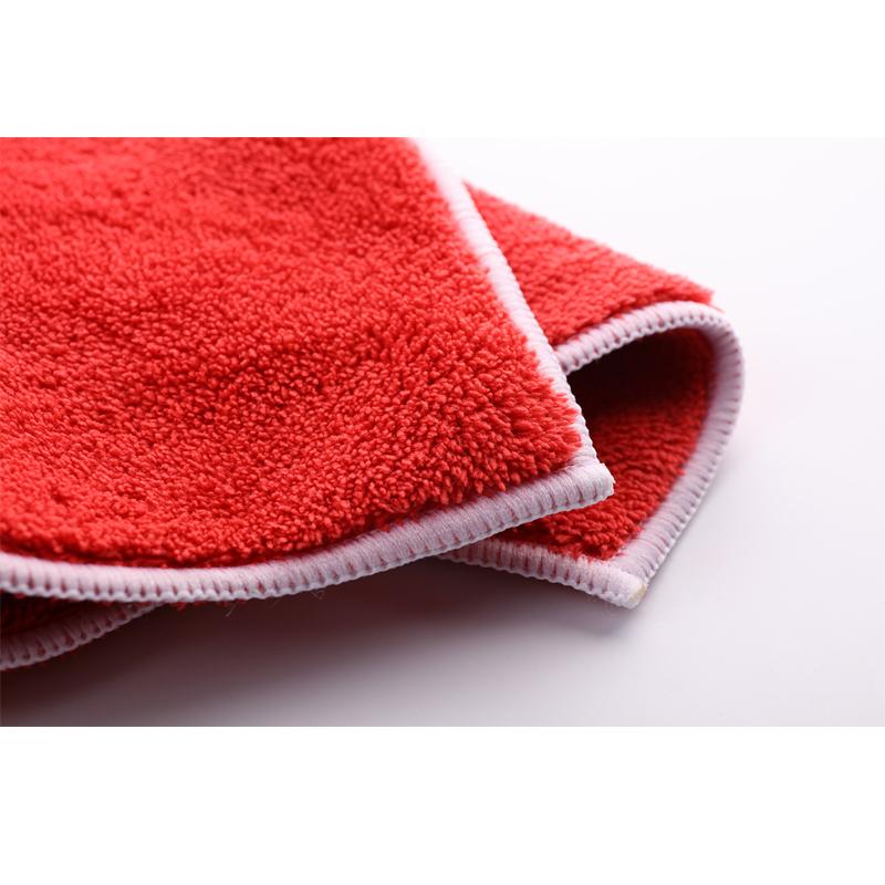 Khăn lau xe đa năng đỏ loại dày SGCB Microfiber miracle cobra Towel(Red) 40x40cm SGGD124