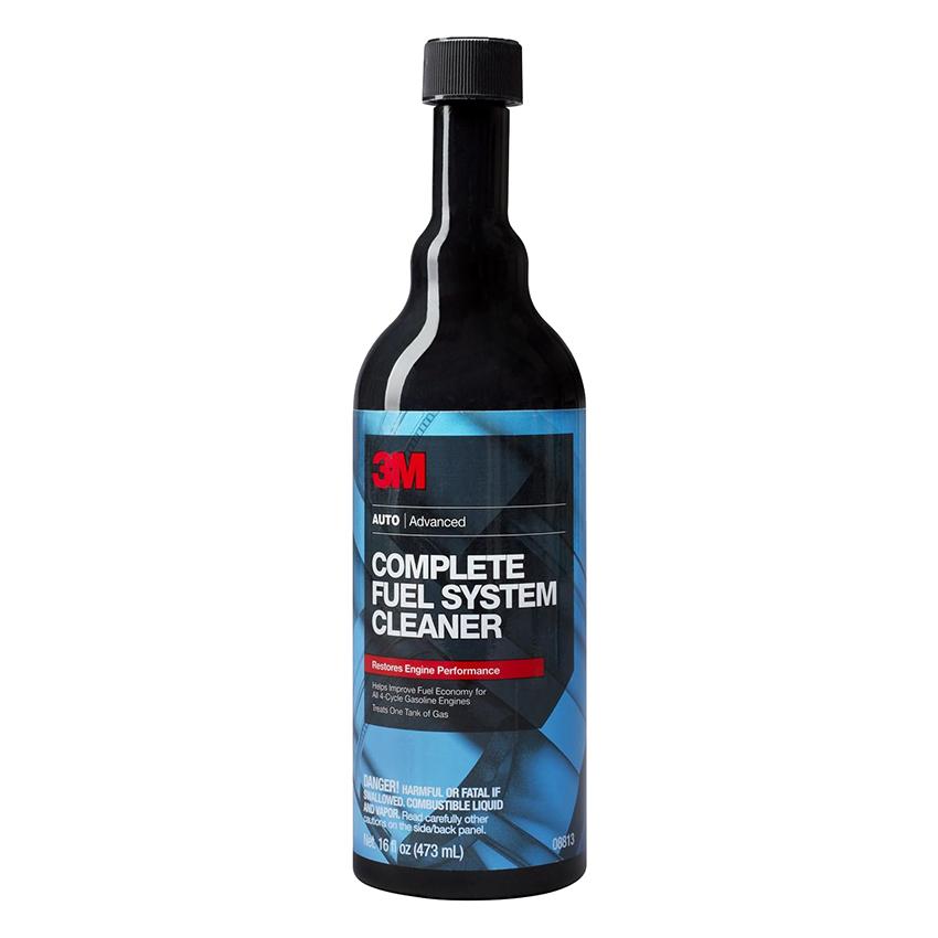 Xúc pét xăng - 3M Complete Fuel System Cleaner 08813 473ml (Đen)